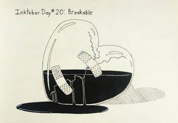 Inktober Day #20 Breakable by GarrettRS