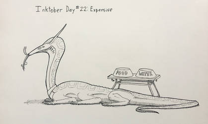 Inktober Day #22 Expensive by GarrettRS