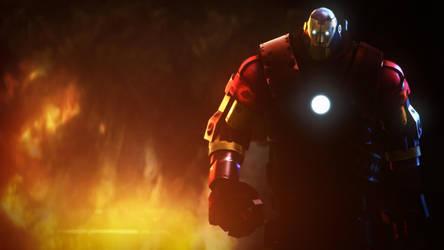 Iron mann. by Heavy-shtopor