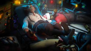 Holidays in the morgue. by Heavy-shtopor