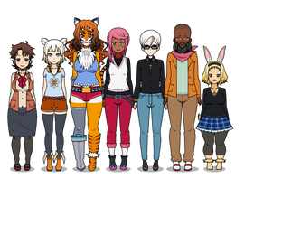 Upcoming characters part 2 by KindlyCruel
