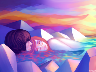Sea of you by tinyhito