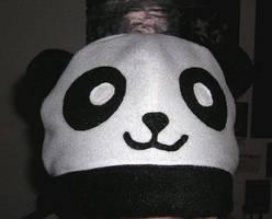 Panda Hat by miaka-yuuki