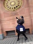 Doctor Who TARDIS Dress by miaka-yuuki