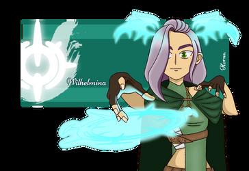 Wilhelmina the Eliatrope by Hornsteria