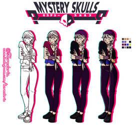 [Mystery Skulls OC] Nice to meet u, Kendra ! by Hornsteria