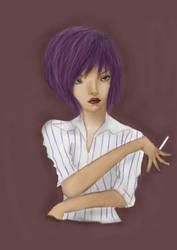 Oldie Girl by stephensaw