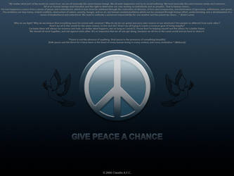 Peace by ClaudioAdriano
