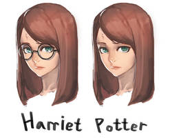 Harriet Potter by k2sh