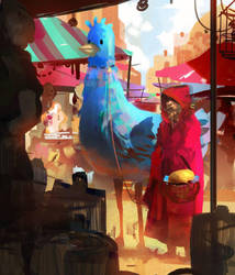 Marketplace by Miles-Johnston