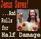 Jesus Saves by Gethsemanewolf
