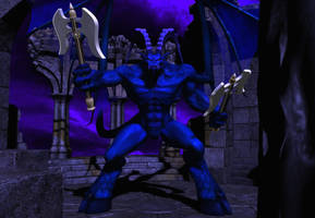 Blue demon by Spino2006