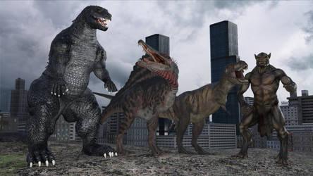A destructive quartet by Spino2006