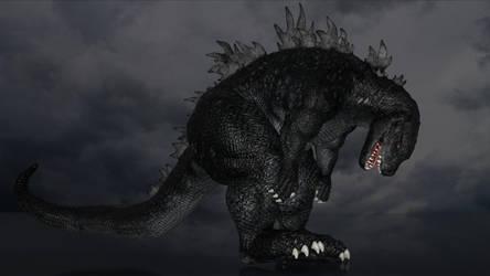 Godzilla Stomp by Spino2006
