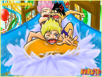 Naruto at the Waterpark by basserist