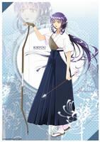Kikyou archer AU by FanasY
