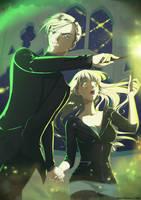 Bridget and Draco by FanasY