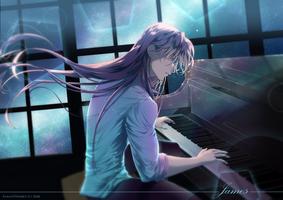 James piano by FanasY