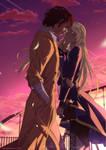 Dazai and Noe by FanasY