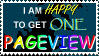 I is Happy for Pageviews by AcidCatalyzedOCD