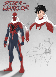Spiderverse Sketch 12302018 by R62