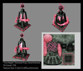 Torchlight Themed Prop by assassin-sylk
