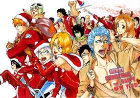 BLEACH: Merry Christmas by Sideburn004