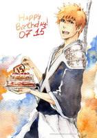 BLEACH: Happy Birthday, Ichigo! by Sideburn004