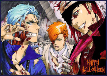BLEACH: Happy Halloween 2015 by Sideburn004