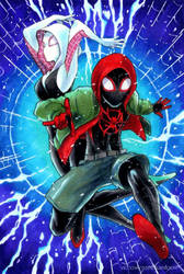 Into the Spider-Verse by Sideburn004