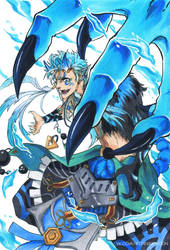 Demon King Grimmjow by Sideburn004