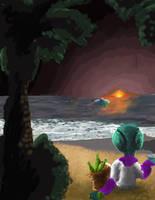 Crypto's Island Paradise by NeomiUmber