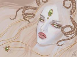 a Goddess by NiAlexanderArt