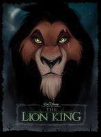 Scar poster by Kara-Kiwi
