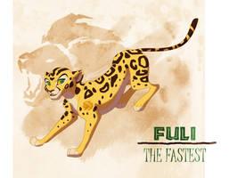 Fuli The Fastest by Kara-Kiwi