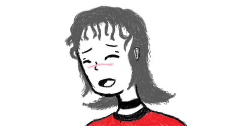 Valorum Matheney (Original Character Art Sketch) by Fukushu-Makoto12