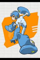 Mega-Man Rocks by CLE2