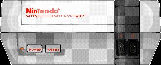 Nintendo Entertainment System (Pixel-art) by AloneAgainstPixels