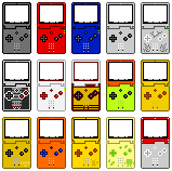 Gameboy Advance SP (Pixel-art) by AloneAgainstPixels