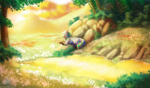 (CM) .:Dawny Flowers:. by SKproductionsArt