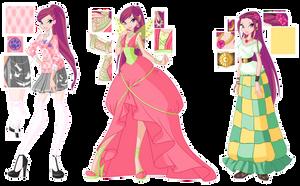 Roxy season 6 designs by GardenOfDaisy