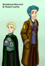 NG - Malfoy and Lupin by DKCissner