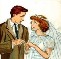 Arthur Molly Wedding by DKCissner