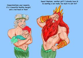 Birth of Ariel by DKCissner