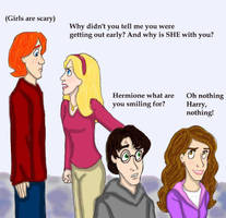 Why Hermione is smiling... by DKCissner