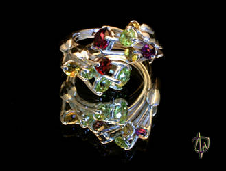 Stardust Ring -perspective 1 by CosmicFolklore