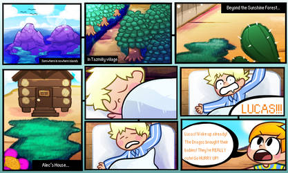 MOTHER 3 - Prologue - Page 1 by StarjetiPlays