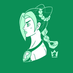 Jolyne 2 by KingCondor