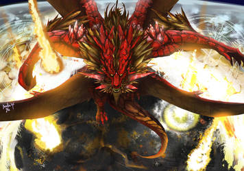 Red Dragon : Doom by Pacelic