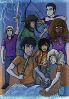 The Heroes Of Olympus by Deesney